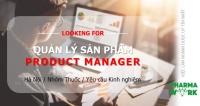 [HN] - Quản lý sản phẩm (Product manager)